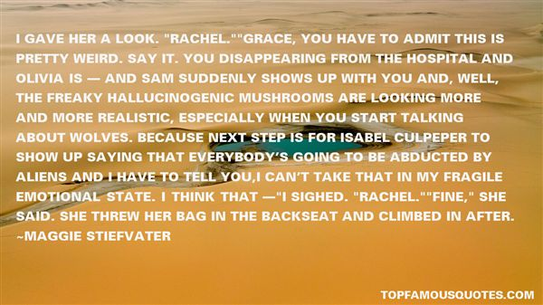 Quotes About Rachel