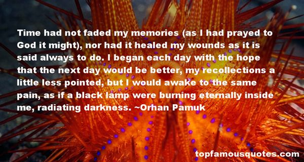 Quotes About Recollections