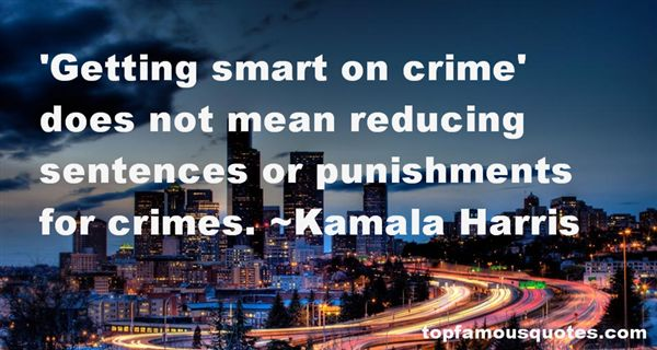 Quotes About Reducing Crime