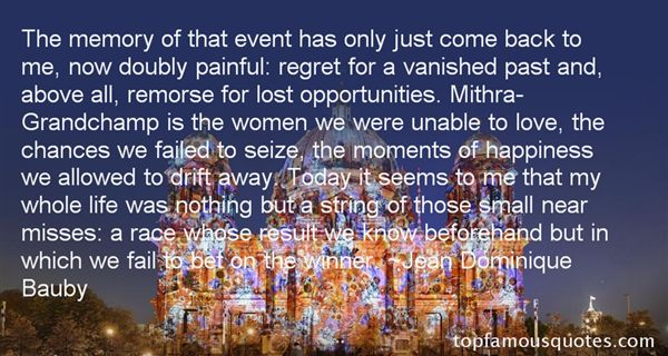 Quotes About Regret Lost Love
