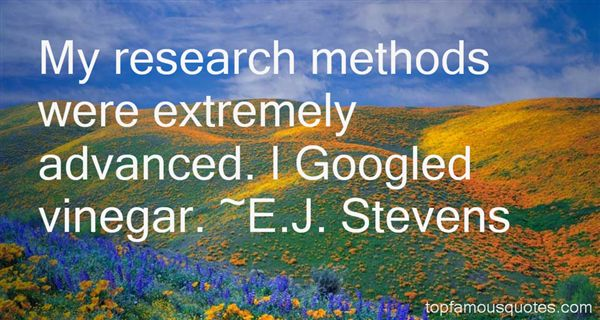 Quotes About Research Methods