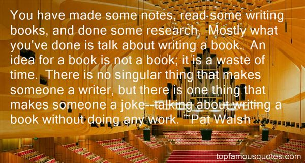 Quotes About Research Writing