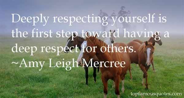 Quotes About Respecting Yourself
