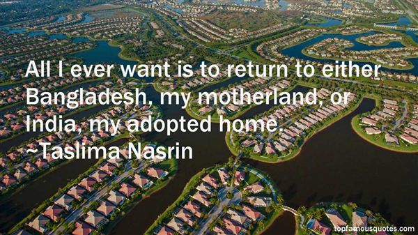 Quotes About Return Home