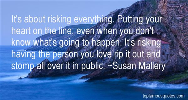Quotes About Risking Love