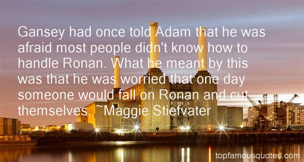 Quotes About Ronan