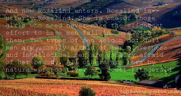 Quotes About Rosalind