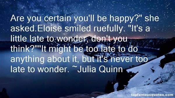 Quotes About Rueful