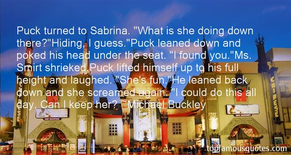 Quotes About Sabrina