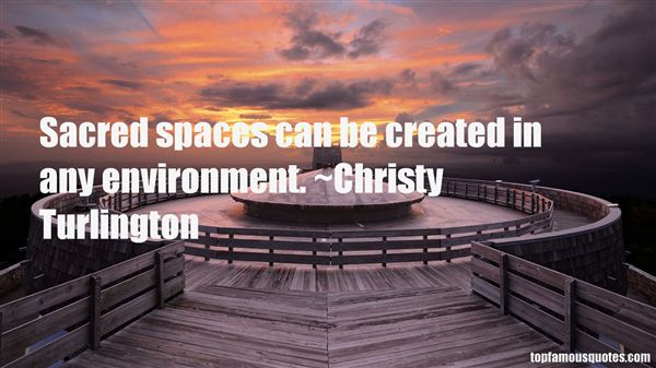 Quotes About Sacred Spaces