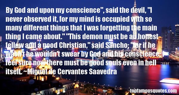 Quotes About Sancho