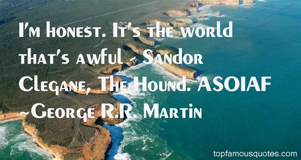 Quotes About Sandor Clegane