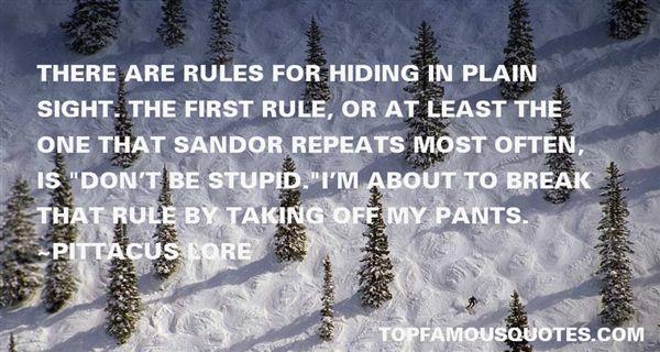 Quotes About Sandor
