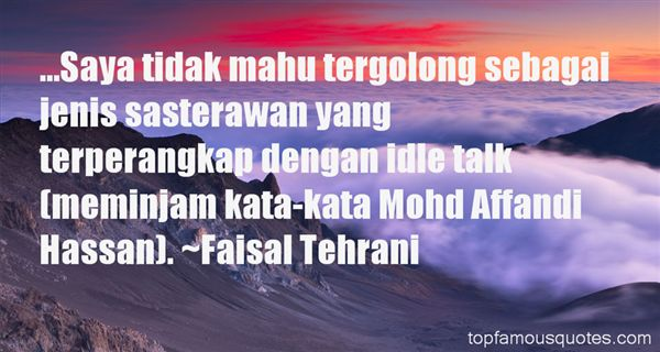 Quotes About Sastera