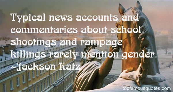 Quotes About School Shootings