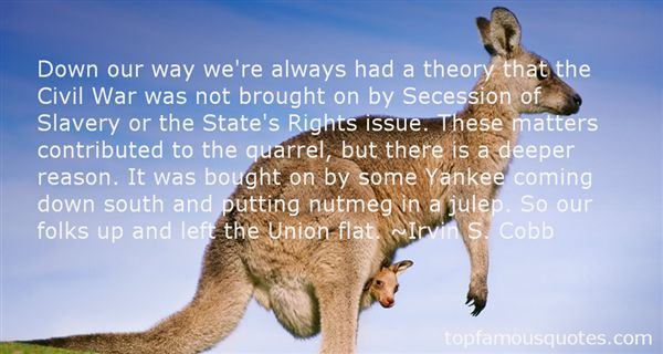 Quotes About Secession