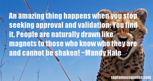 Quotes About Seeking Validation
