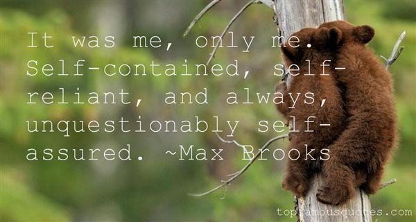 Quotes About Self Assured