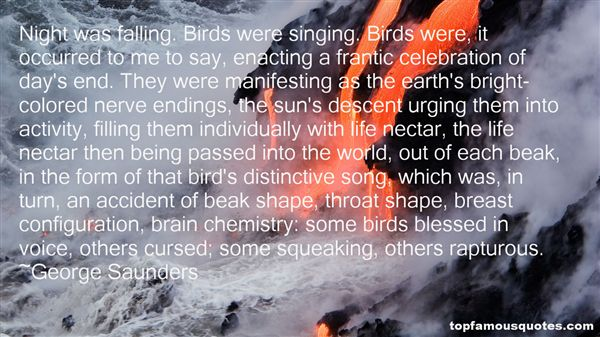 Quotes About Singing Birds