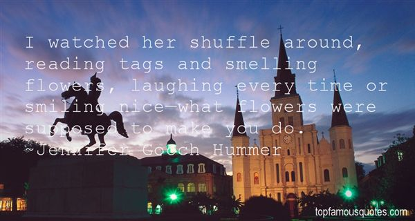 Quotes About Smelling Flowers