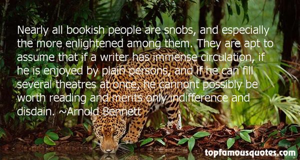 Quotes About Snobs