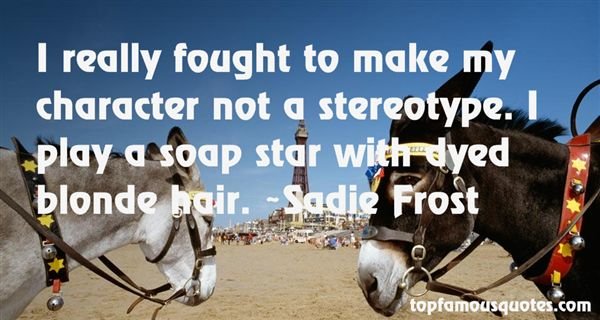 Quotes About Stereotype