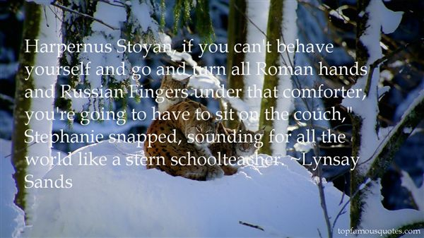 Quotes About Stoyan