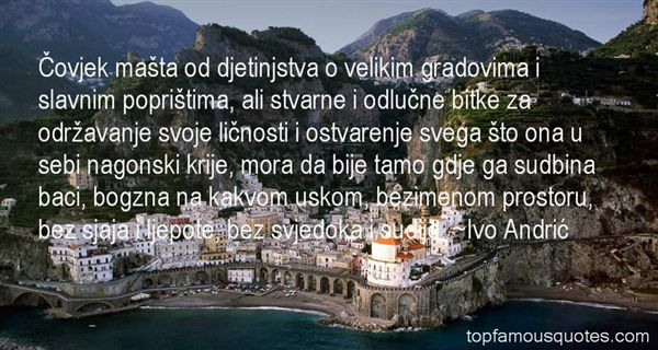 Quotes About Sudbina