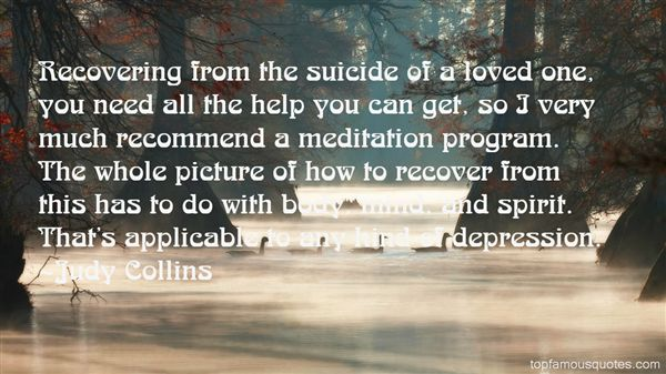 Quotes About Suicide Of A Loved One