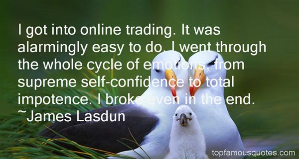 Quotes About Supreme Confidence