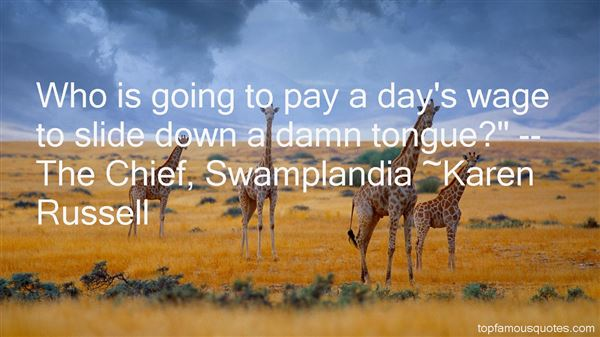 Quotes About Swamplandia