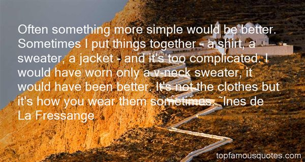 Quotes About Sweater