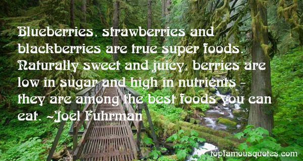 Quotes About Sweet Foods