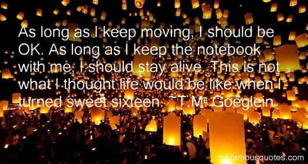Quotes About Sweet Sixteen