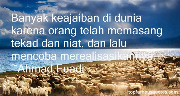 Quotes About Tekad