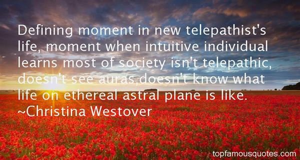 Quotes About Telepathist