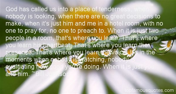 Quotes About Tender Moments