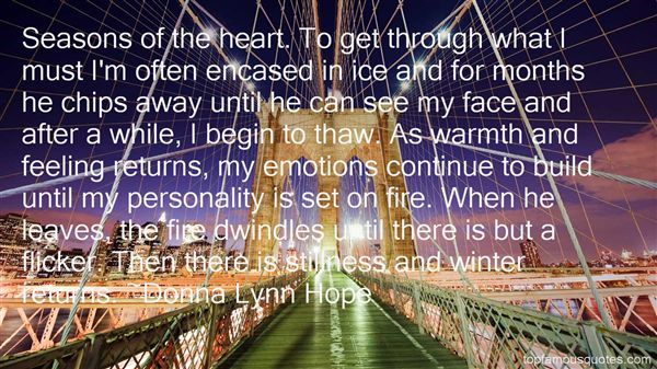 Quotes About Thaw