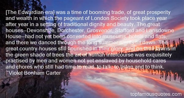 Quotes About The Edwardian Era