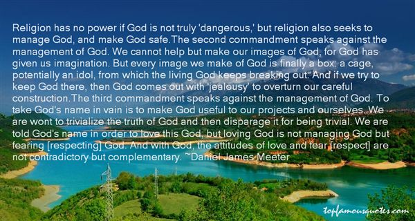 Quotes About The Second Commandment