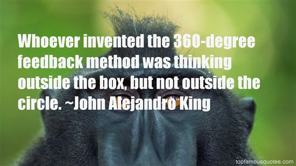 Quotes About Thinking Outside The Box