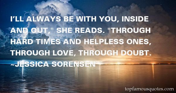 Quotes About Through Hard Times