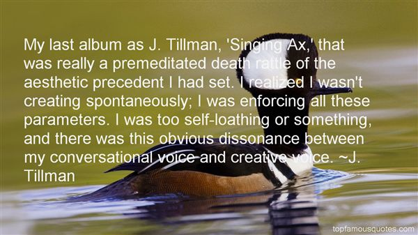 Quotes About Tillman