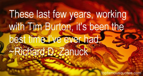 Quotes About Tim Burton