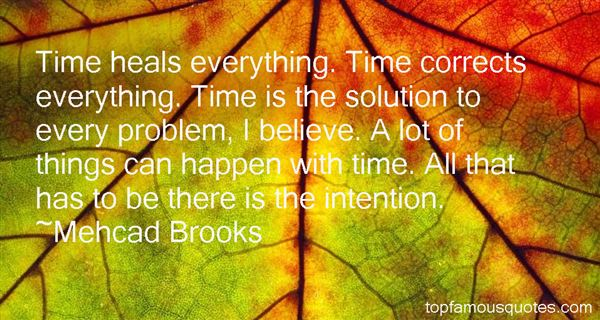 Quotes About Time Heals All