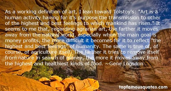 Quotes About Tolstoy Art
