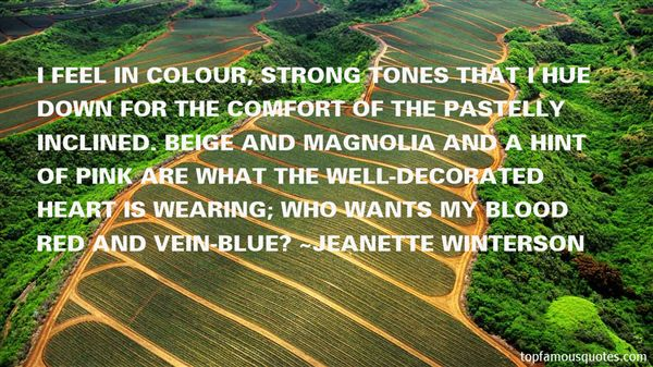 Quotes About Tones
