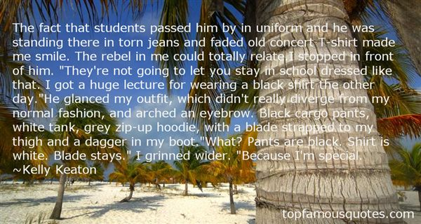 Quotes About Torn Jeans