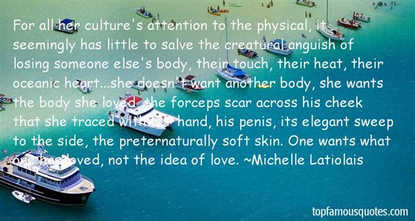Quotes About Touch And Love