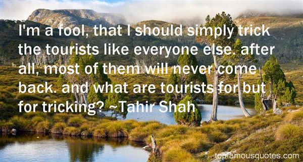 Quotes About Tourist